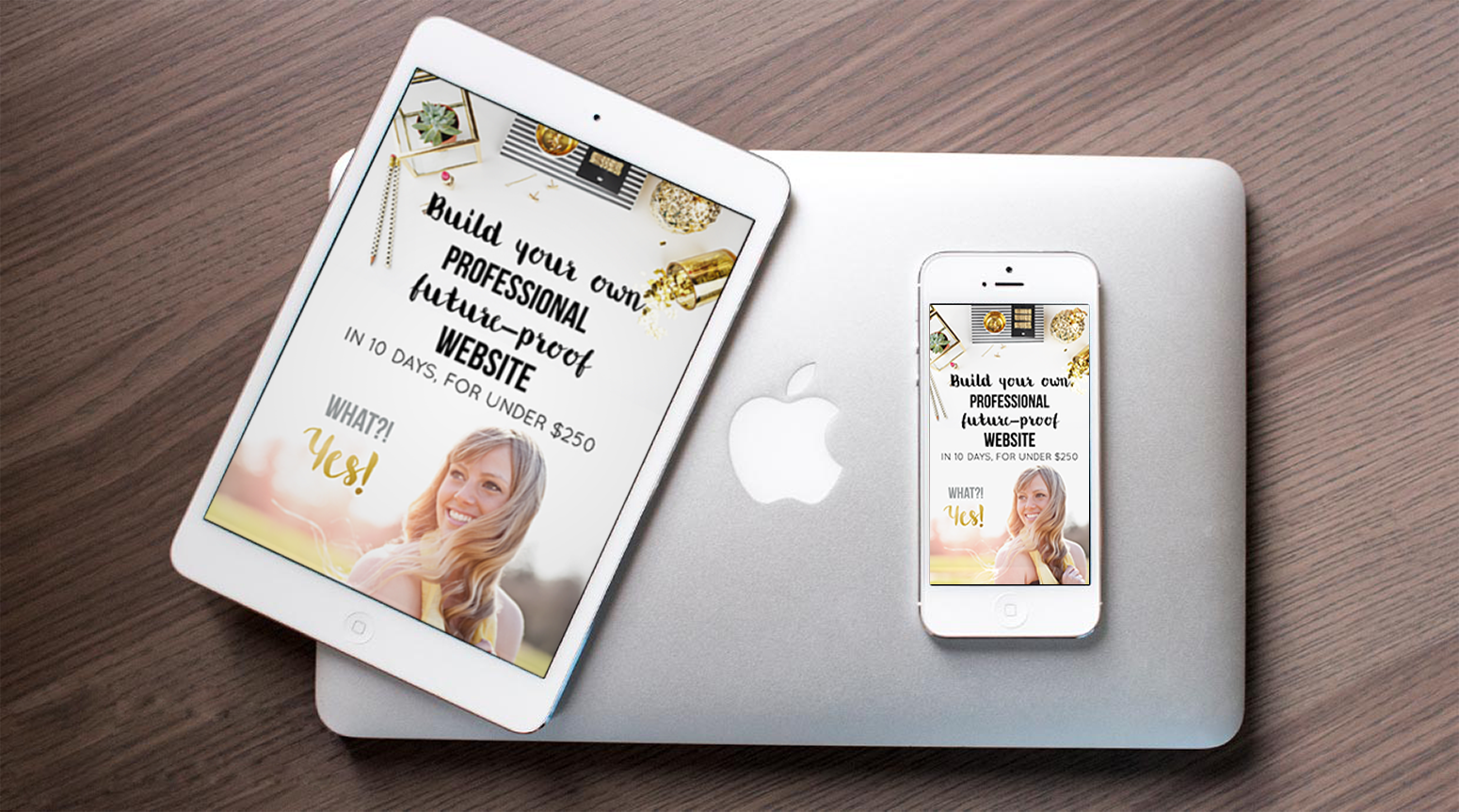 build your own website - 2